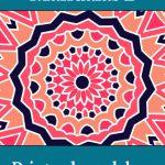 Mandalas 2 – Print-selv malebog