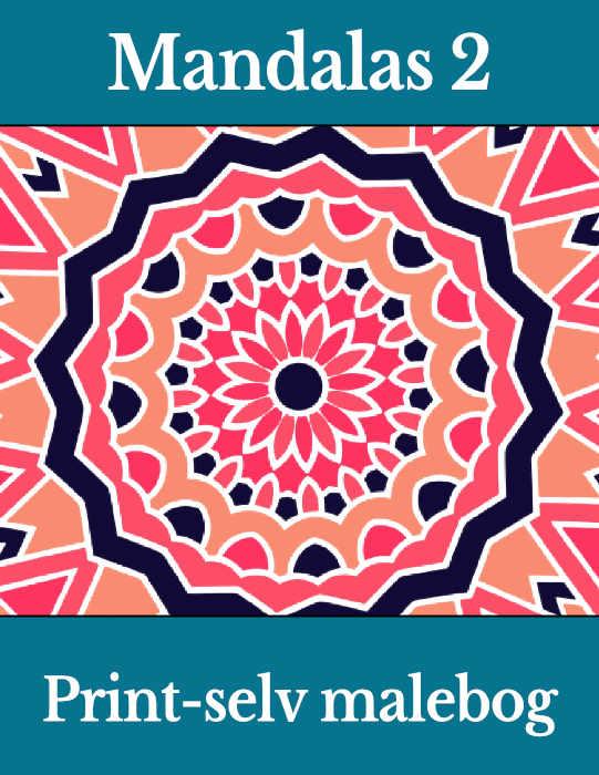 print selv malebog mandalas 2