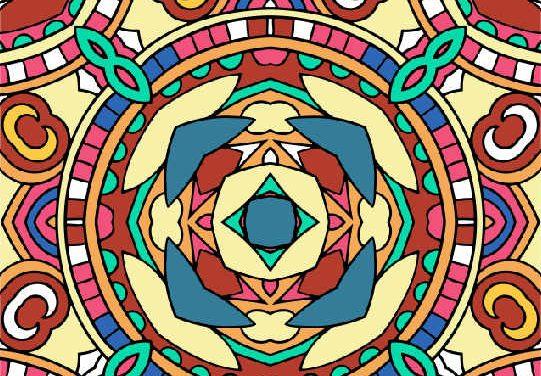 Mønstre 1 – Print-selv malebog