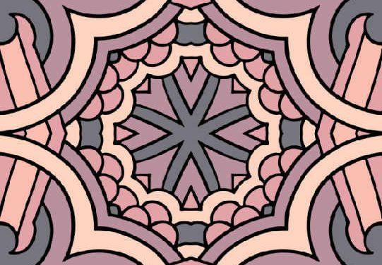 Mønstre 2 – Print-selv malebog